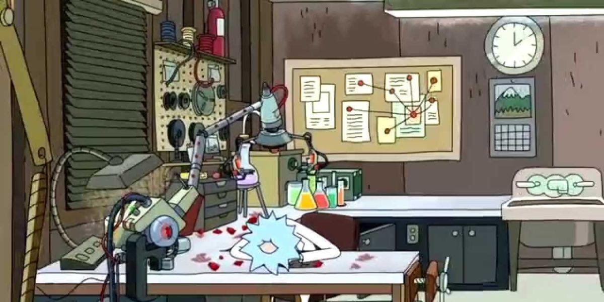 10 coisas que você nunca notou sobre a garagem de Rick e Morty 8