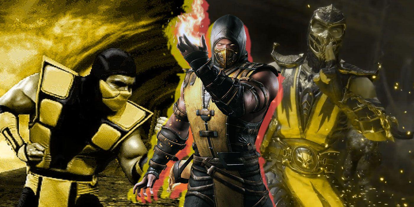 Mortal Kombat: Scorpion's 5 HOTTEST Looks   CBR