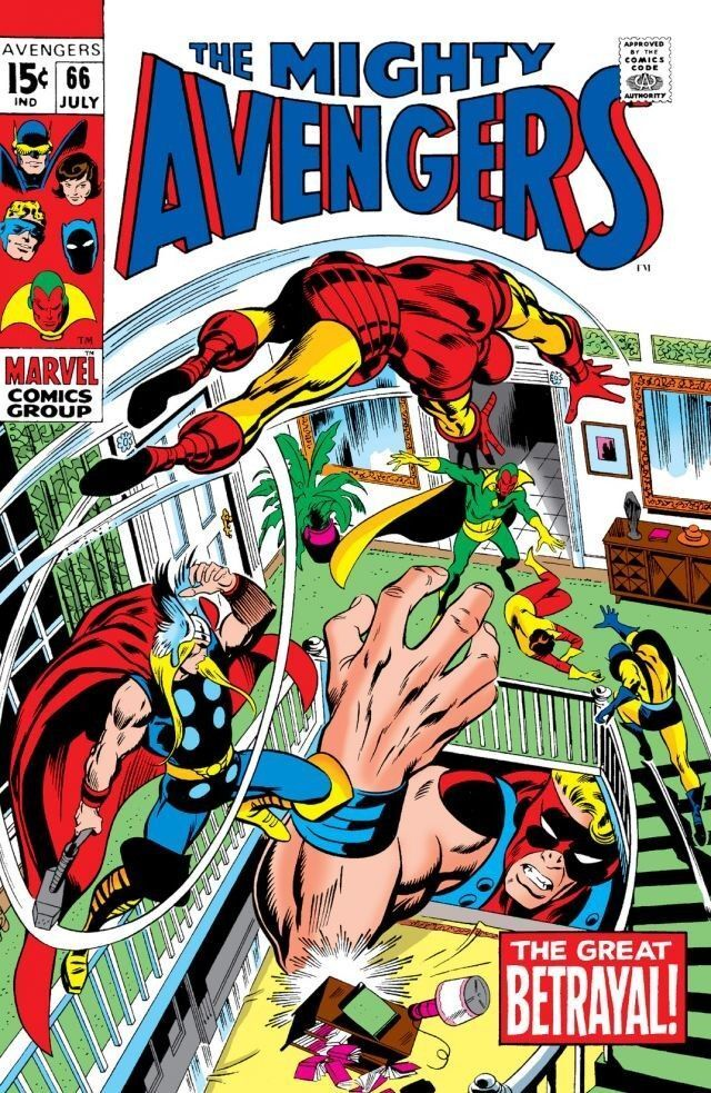 03/10 The Mighty Avengers: The Great Betrayal!