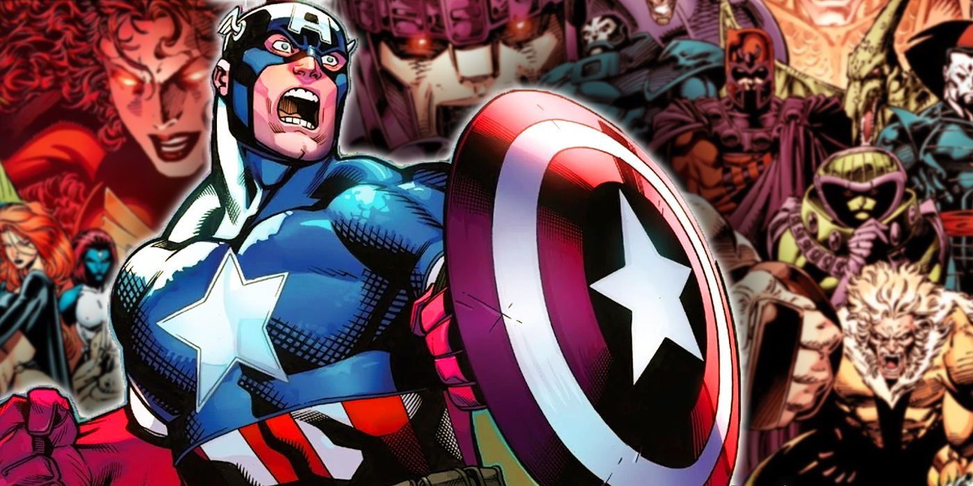 X-Men: The Animated Series' Most Hateful Villains Are Targeting Captain America