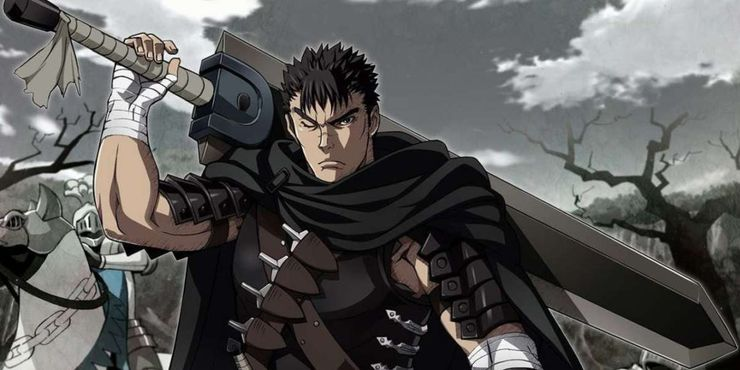 Guts Frowning With His Sword In Berserk Anime.jpg?q=50&fit=crop&w=740&h=370&dpr=1 - Haikyuu Merch Store