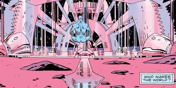 Dr. Manhattan; Watchmen; Marvel