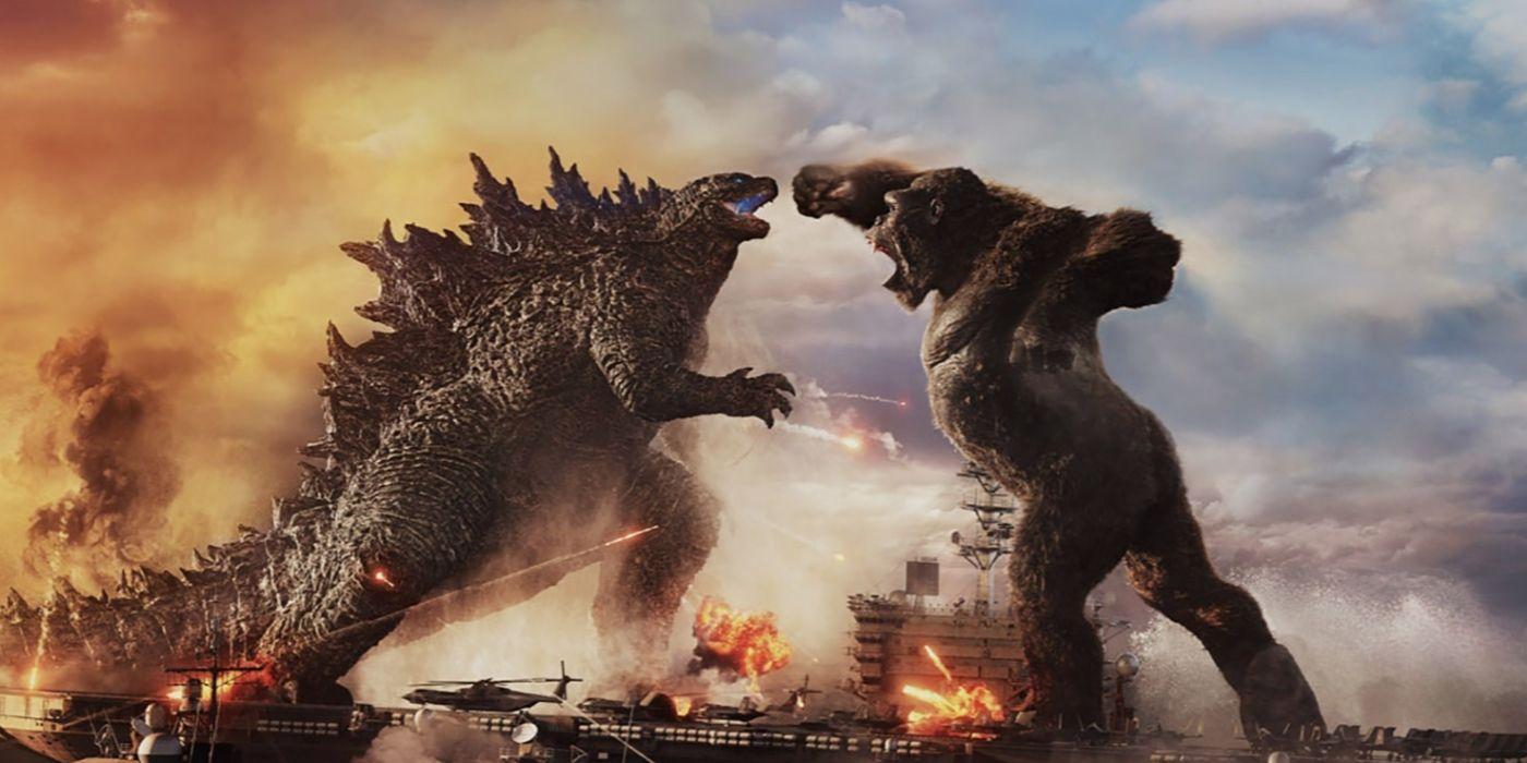 Godzilla vs. Kong Teaser Debuts Underwater Fight Scene Footage