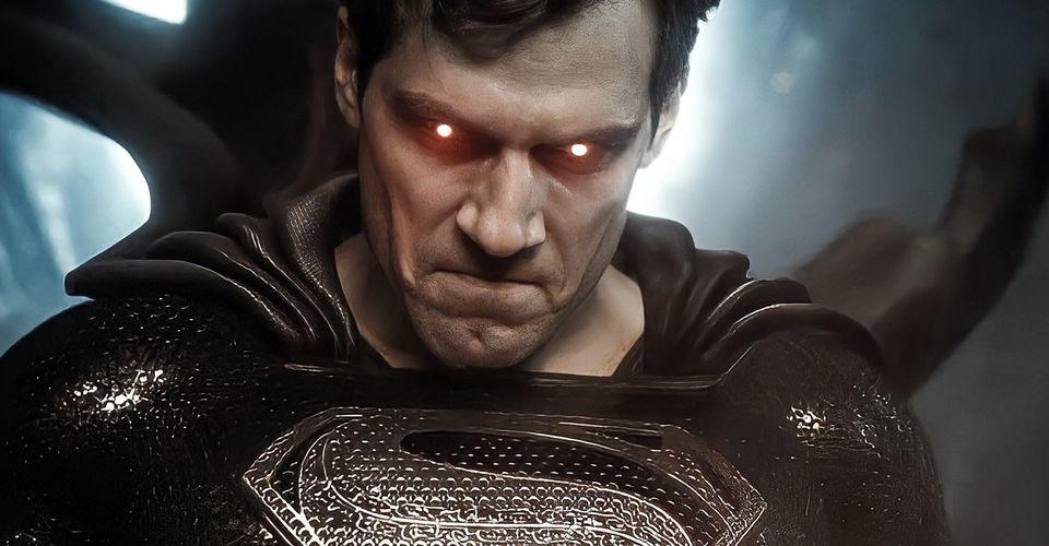 """superman black suit header - El traje negro de Superman no tiene sentido en la """"Liga de la Justicia de Zack Snyder"""""""