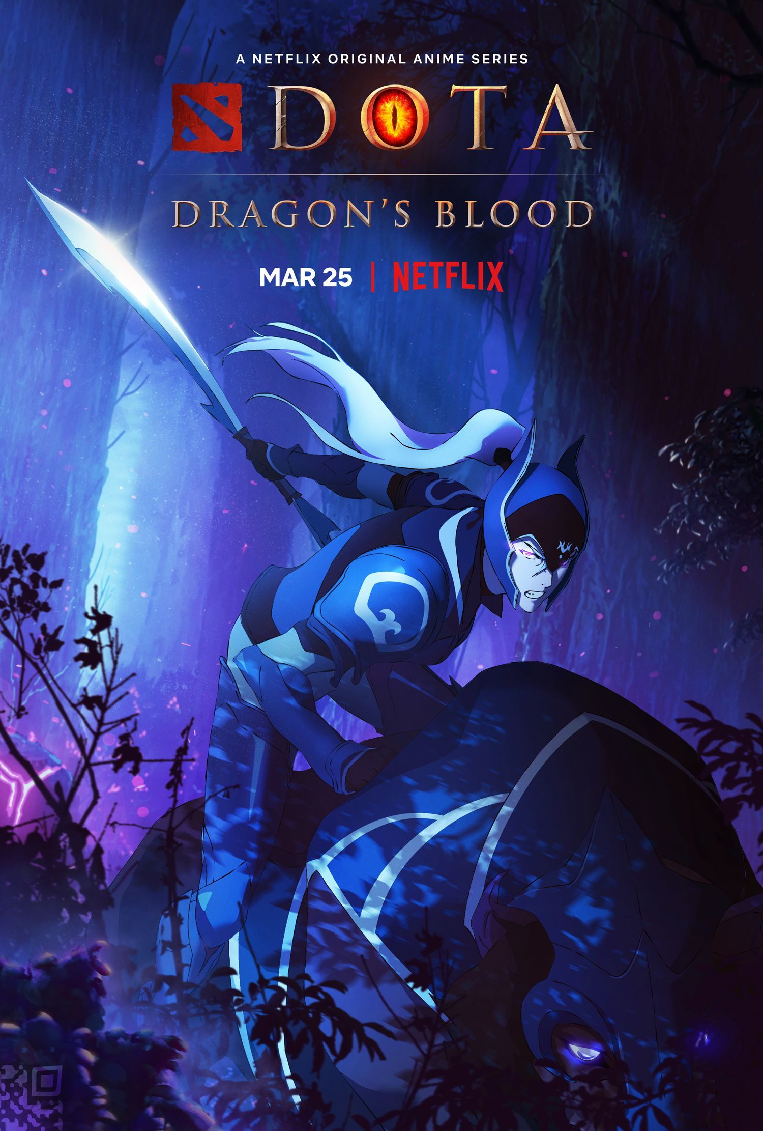 DOTA: Primeiro trailer e pôsteres de Dragon's Blood Drops para a série de anime do Netflix 3