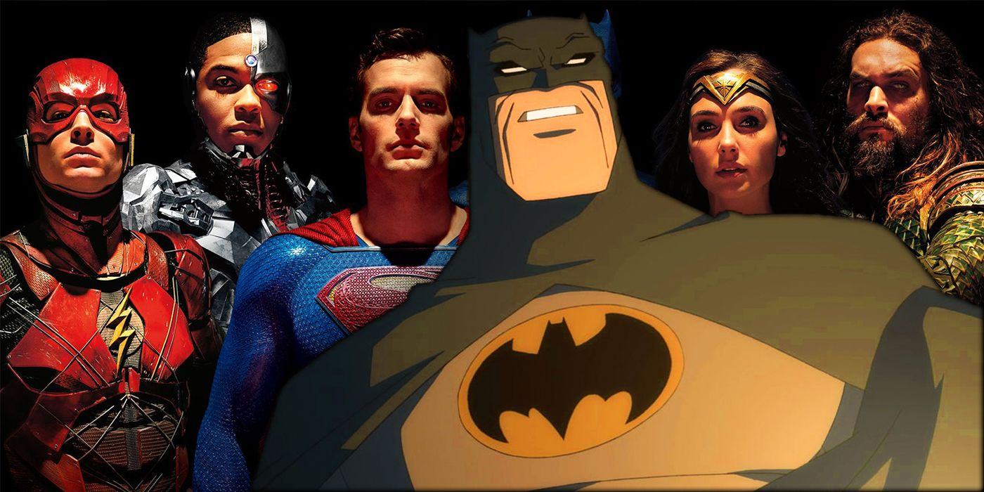 Zack Snyder's Justice League Epilogue References Dark Knight Returns