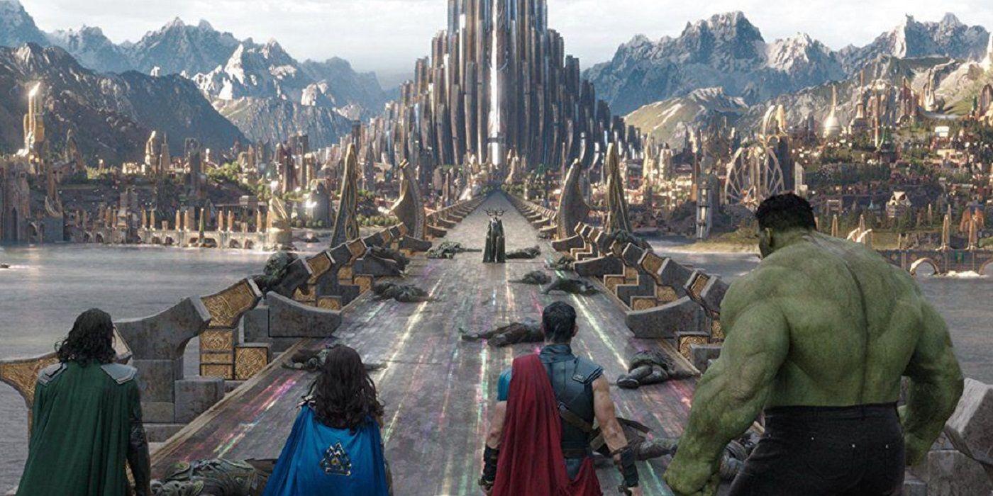 Thor: Love and Thunder Photos Indicate an Asgardian Return | CBR