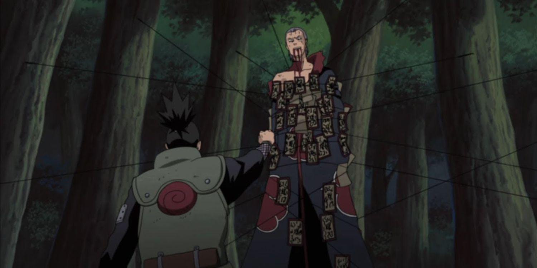 Naruto: As 10 melhores lutas dos 11 de Konoha 7