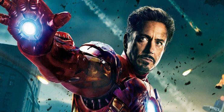 Robert Downey Jr. as Iron Man in the MCU