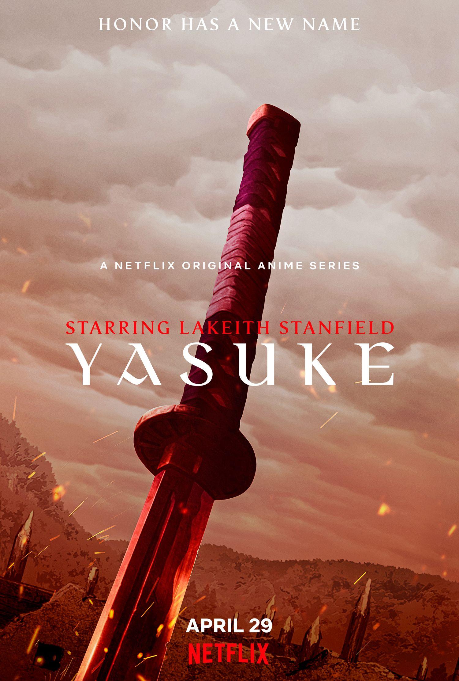 Yasuke da Netflix traz um primeiro trailer sangrento 1