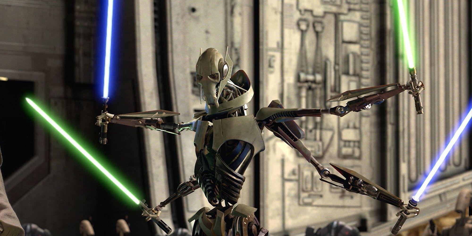 Star Wars: General Grievous Kept the Braids of Jedi Padawans He Murdered
