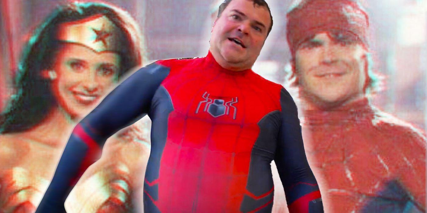 Jack Black Played Spider-Man WAY Before His Viral Vaccine Video