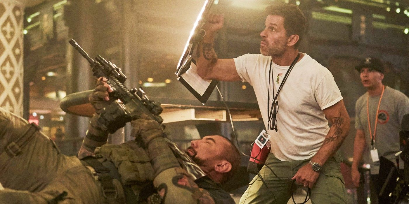 Zack Snyder Literally Banned Sitting on the Army of the Dead Set