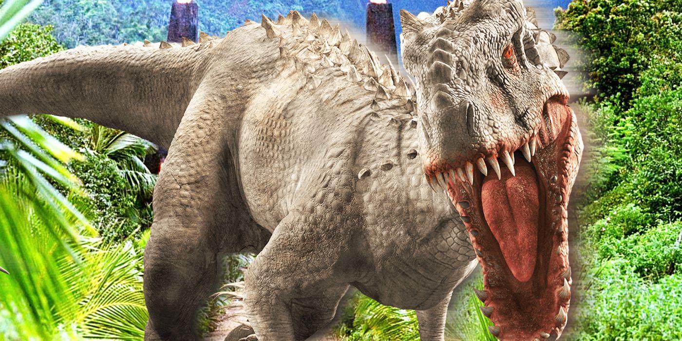 Jurassic World: The Indominus Rex Descends From Plants   CBR