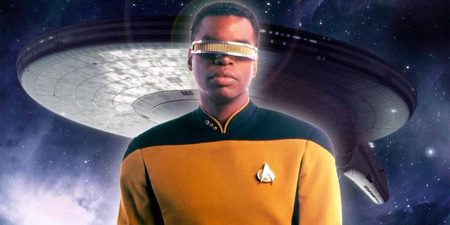 Star Trek: How TNG's Geordi La Forge Got His Eyesight Back   CBR