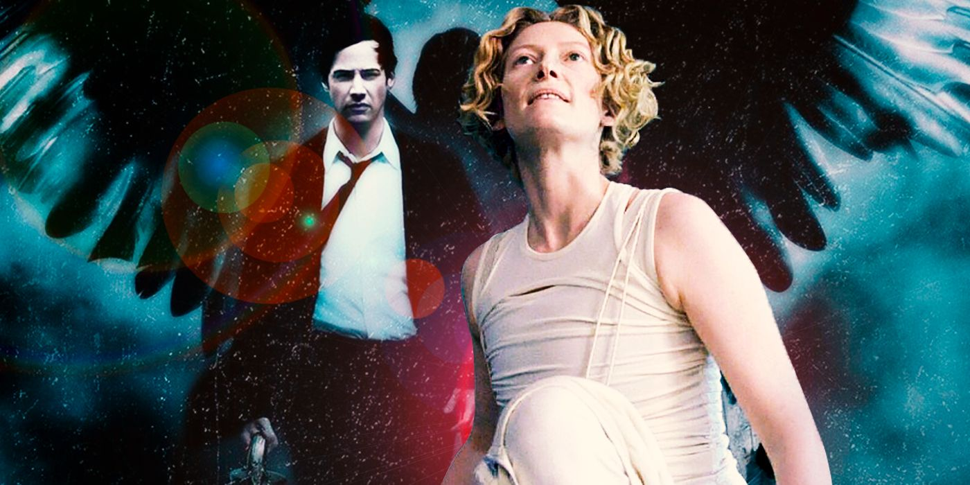 Why the Angel Gabriel in Keanu Reeves' Constantine Wears Hospital Bracelets