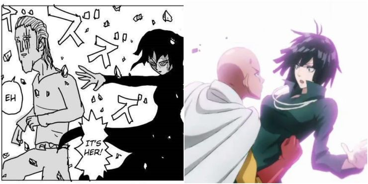 Vs manga one man comparison webcomic punch Get One