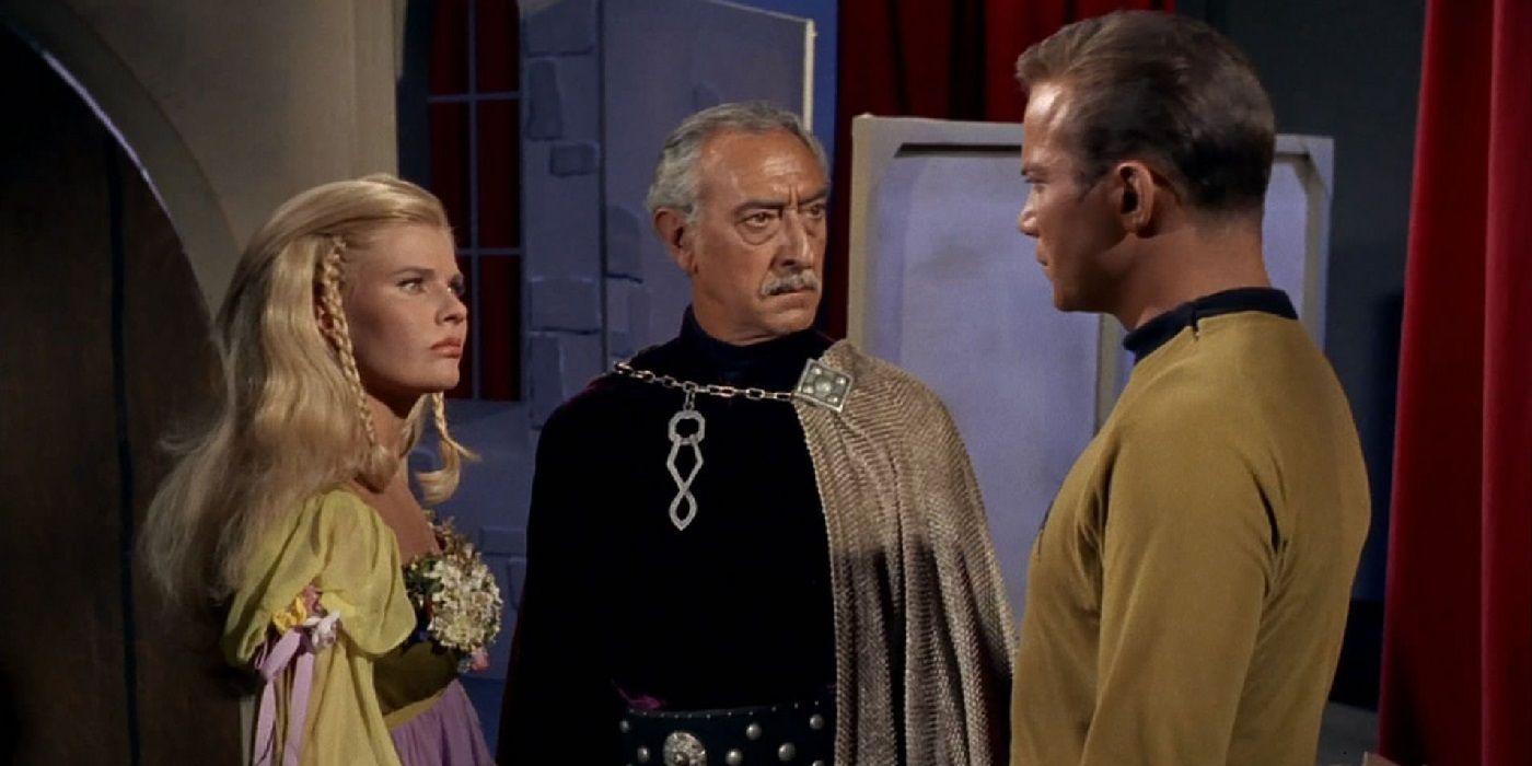 Star Trek: A Major Dictator Saved Captain Kirk's Life   CBR