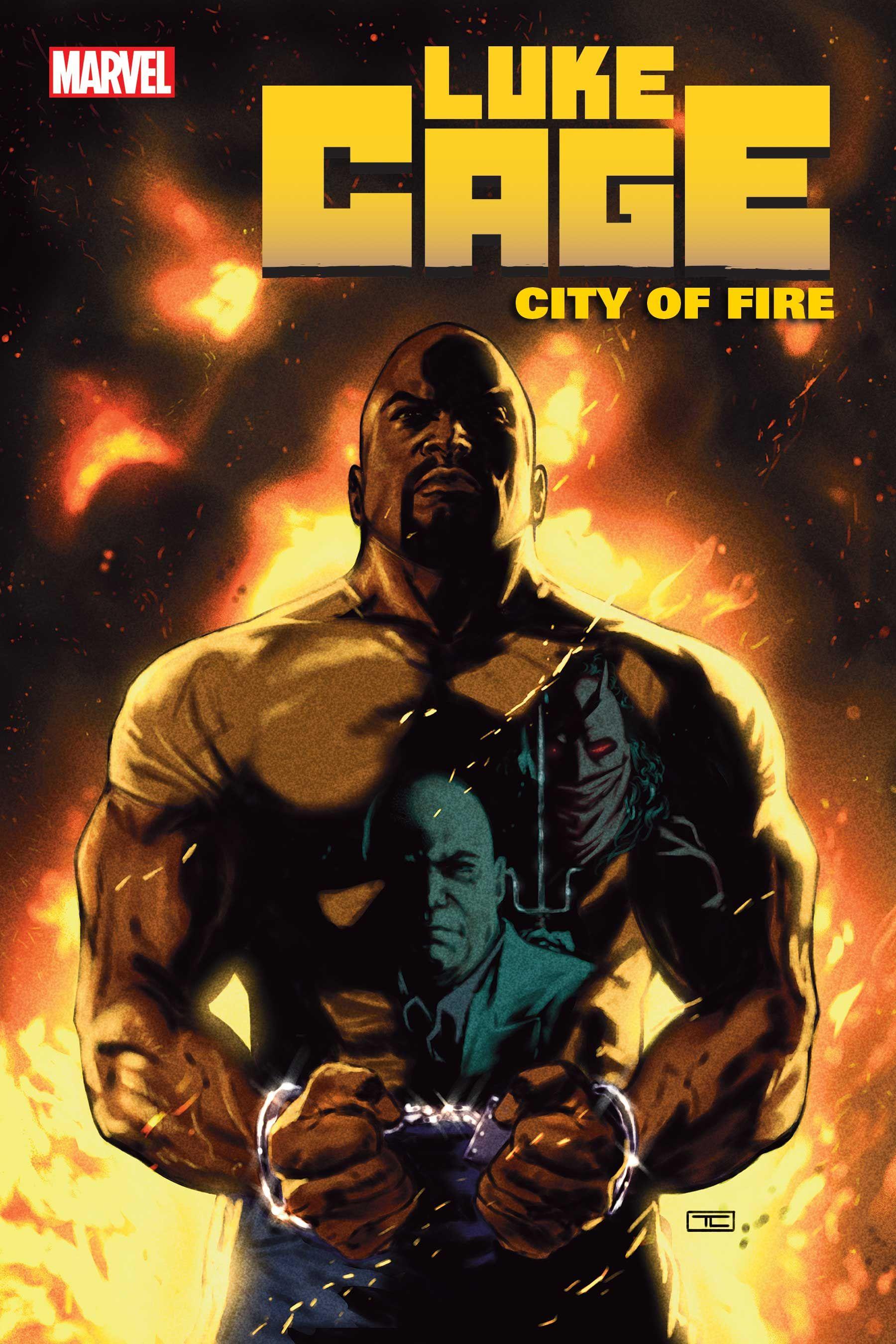 Marvel Anuncia Nova Série Luke Cage, Cidade do Fogo 1