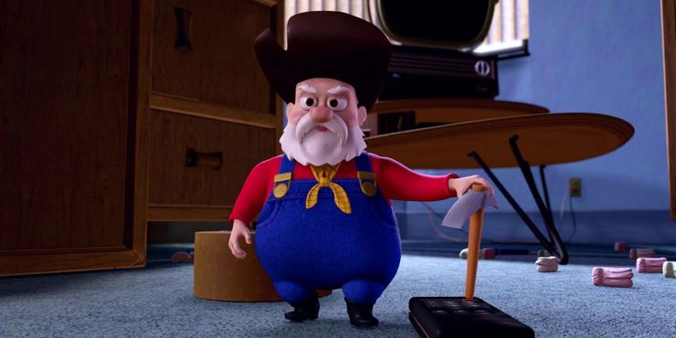 """Stinky Pete in """"Toy Story 2"""""""