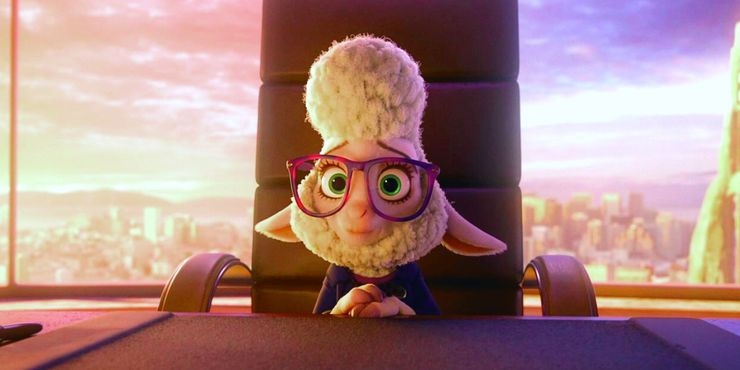 """Bellwether in """"Zootopia"""""""