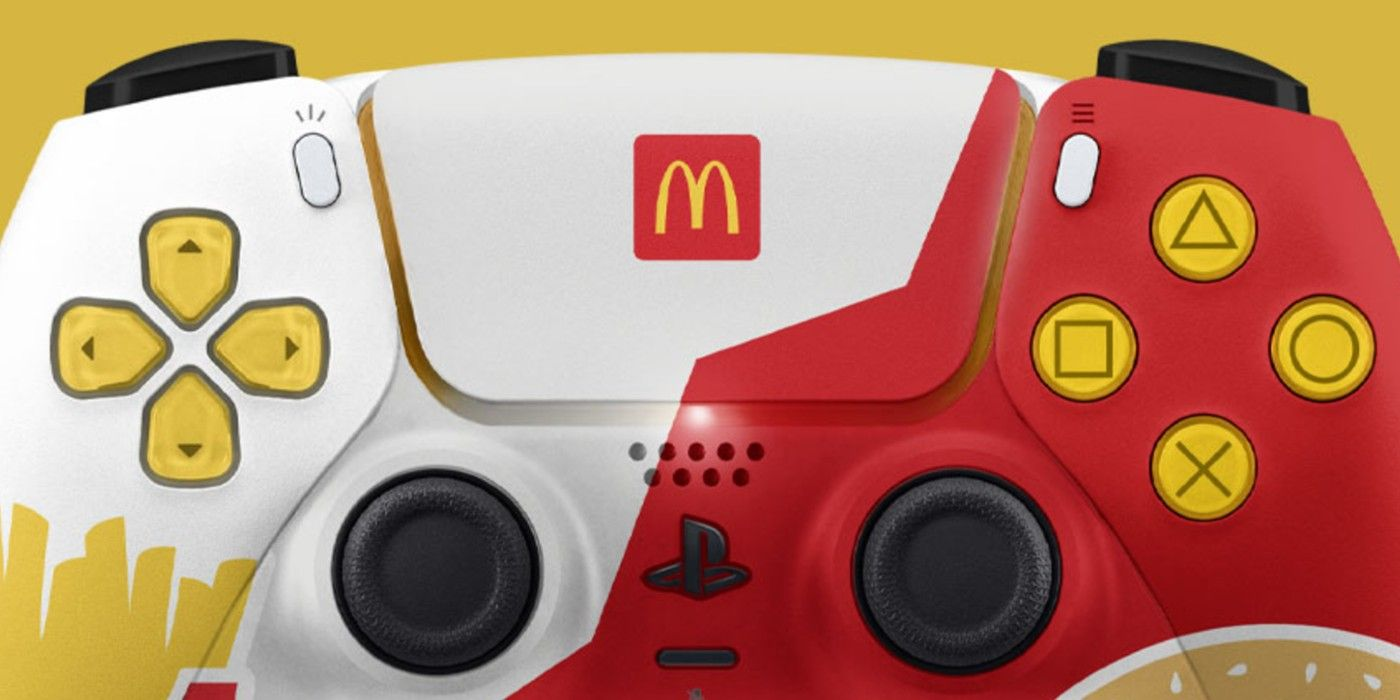 McDonald's Removes PS5 Controller From the Menu, Postpones Stream Week