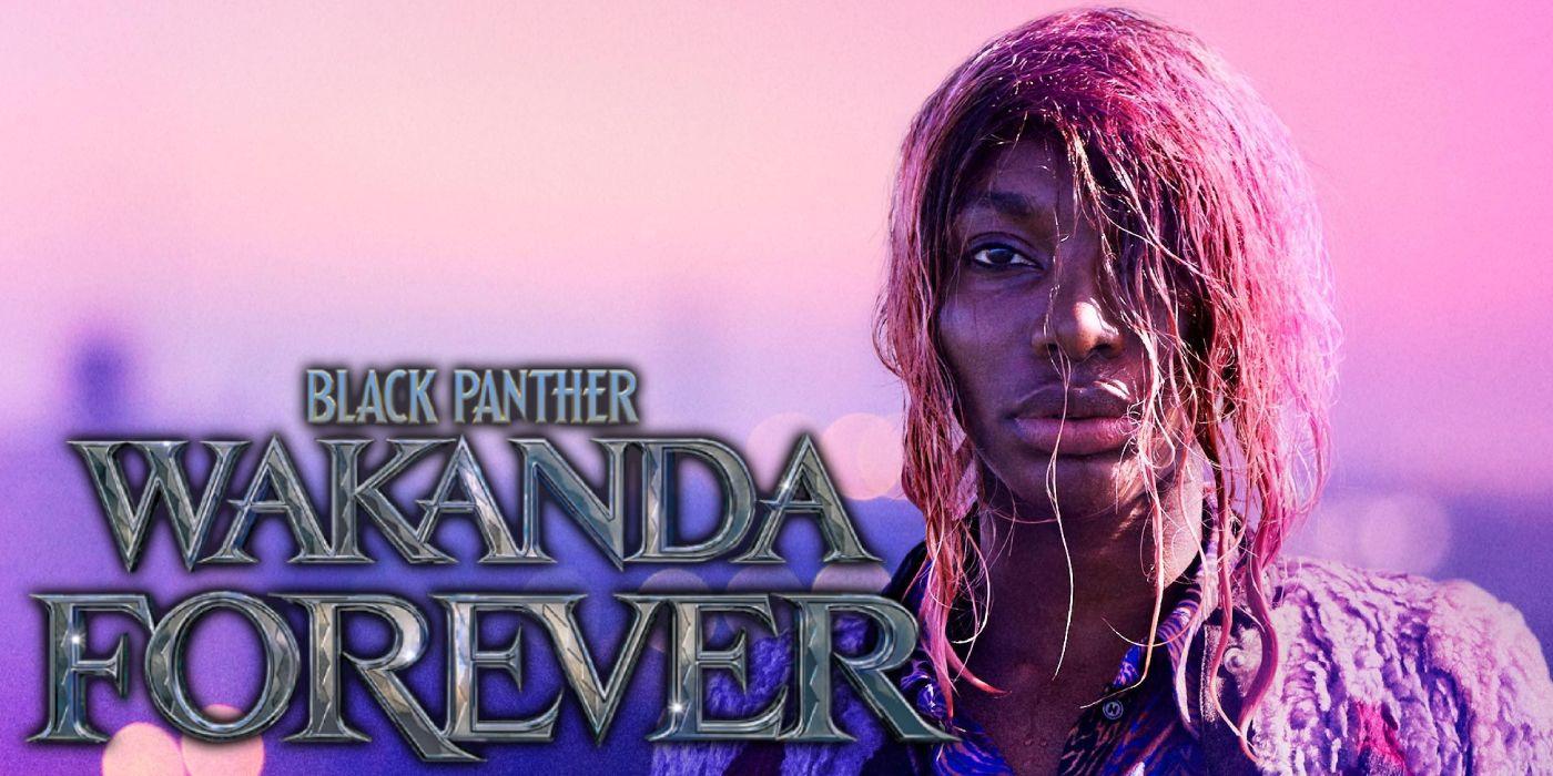 Black Panther 2 Menambahkan Saya Dapat Menghancurkan Michaela Coel Anda