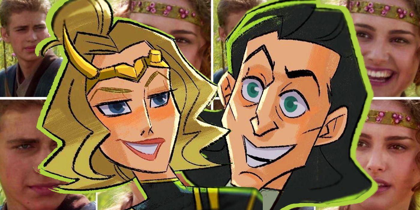 Artis Memberi Meme Anakin/Padme 'Red Flags' Perawatan Loki yang Sempurna