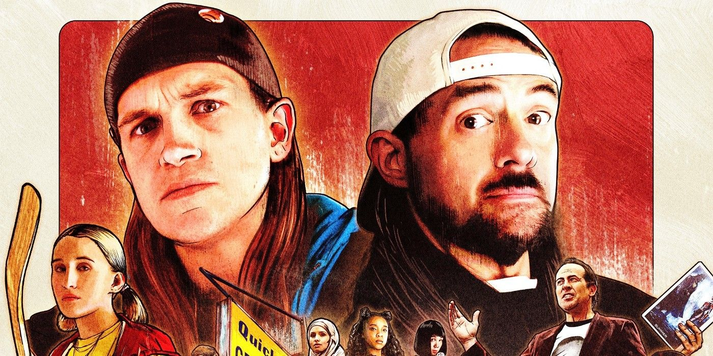 Kevin Smith Breaks Out Silent Bob's Original Hoodie for Clerks III