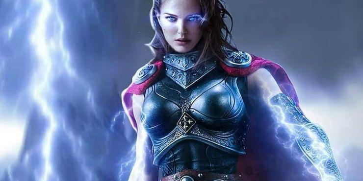 Natalie Portman as Jane Foster aka Mighty Thor