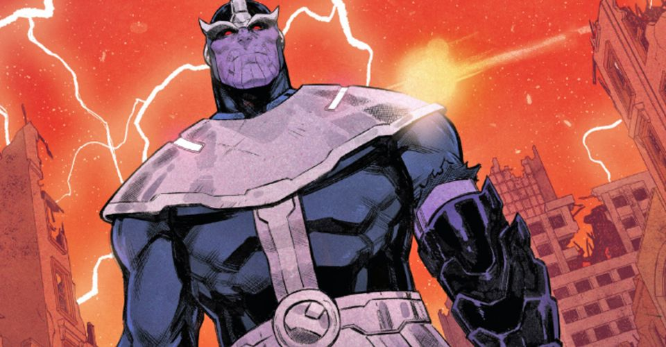 The constant craving for more power reveals that Thanos will never be powerful enough.