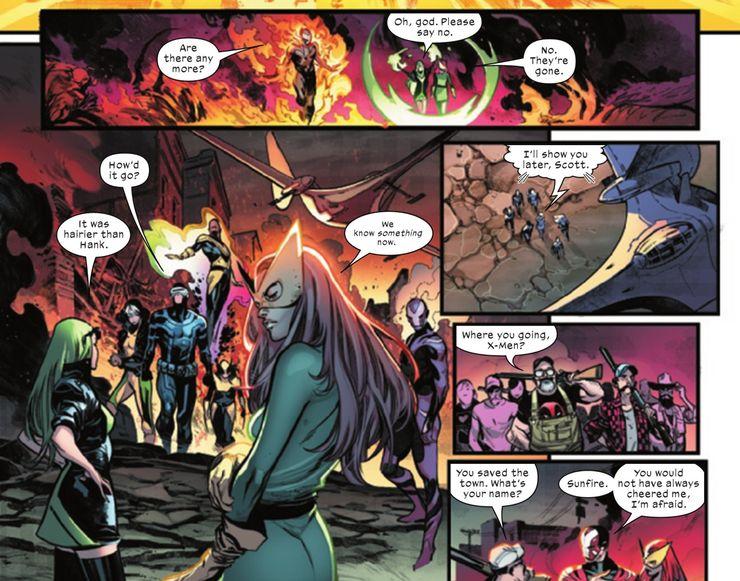 X-Men, The Avengers, Marvel