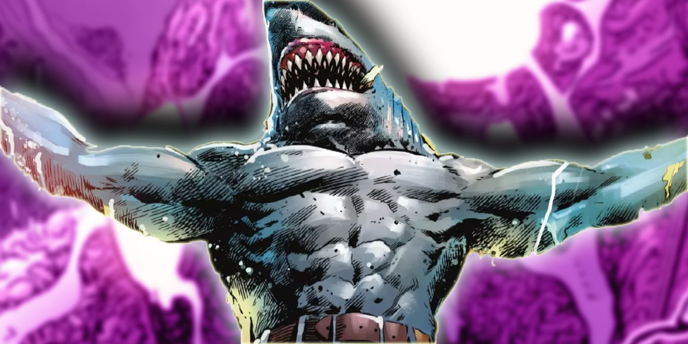Suicide Squad's King Shark Just Suffered His Most Disgusting Defeat
