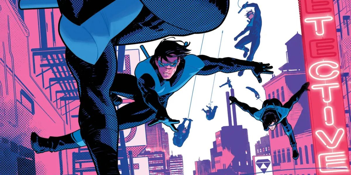 December's Nightwing #87 Plays Out as One Continuous Image | CBR