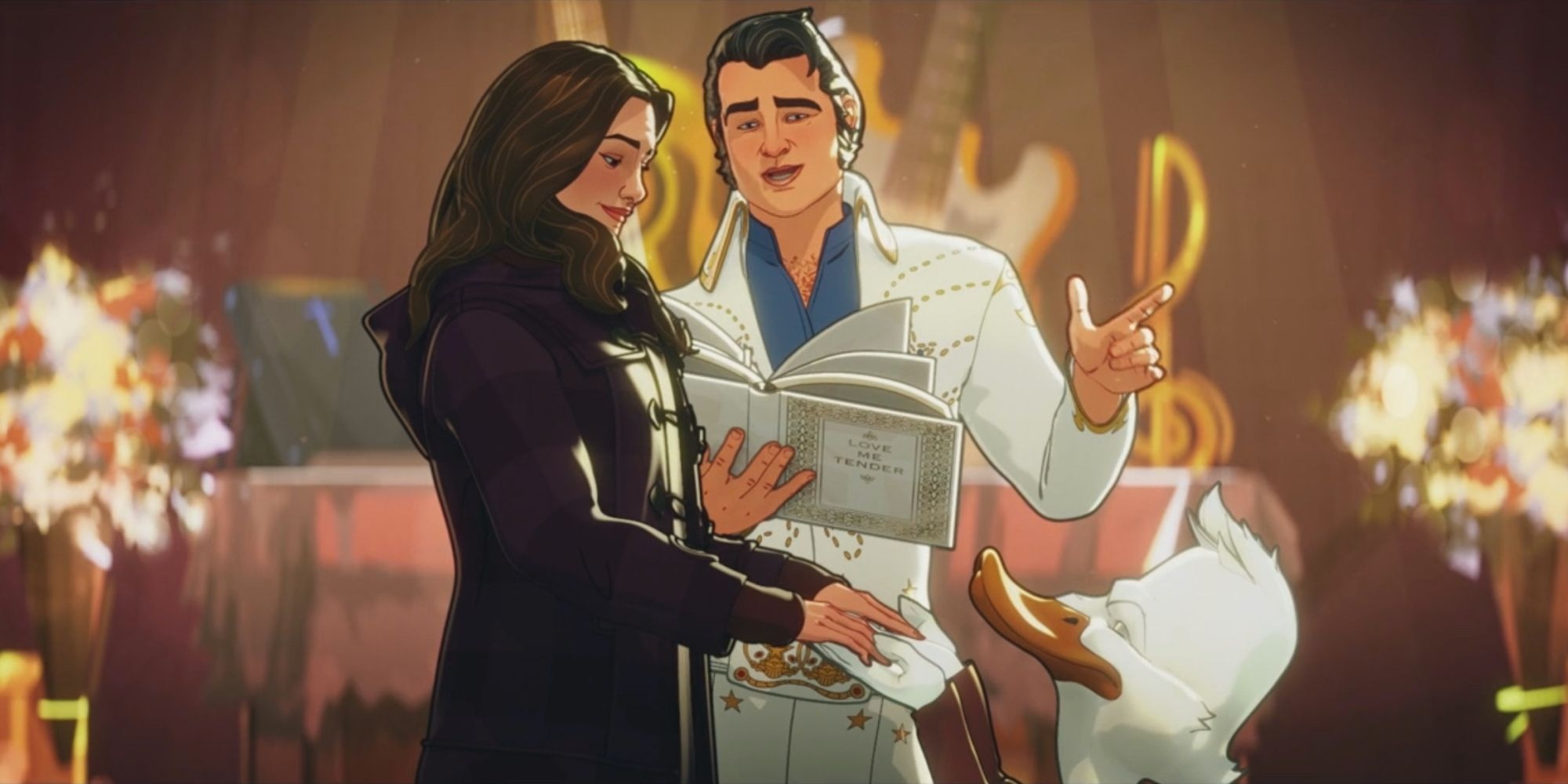 Marvel Invites Fans to Darcy and Howard's What If...? Wedding