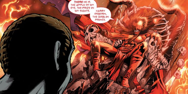 Mephisto In Marvel Comics makes a deal with Norman Osborn