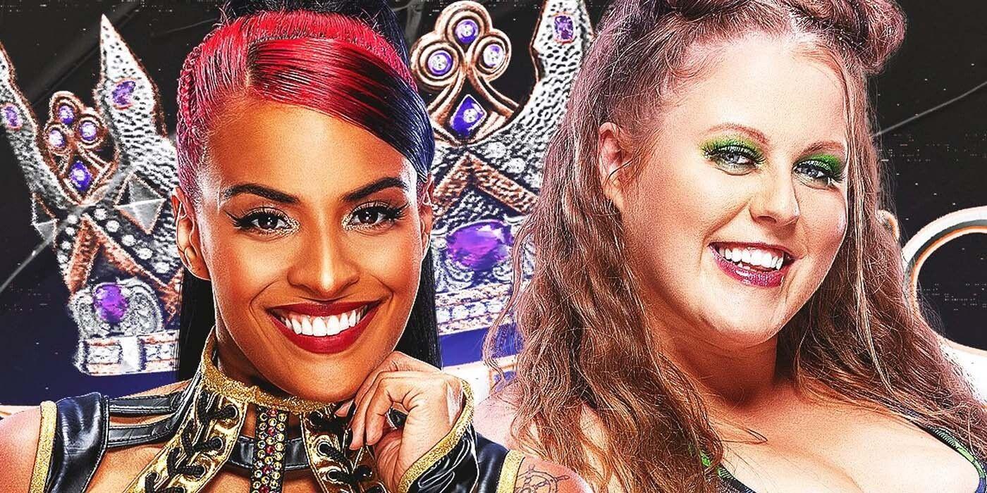 WWE's First-Ever Queen's Crown Winner Is Zelina Vega   CBR