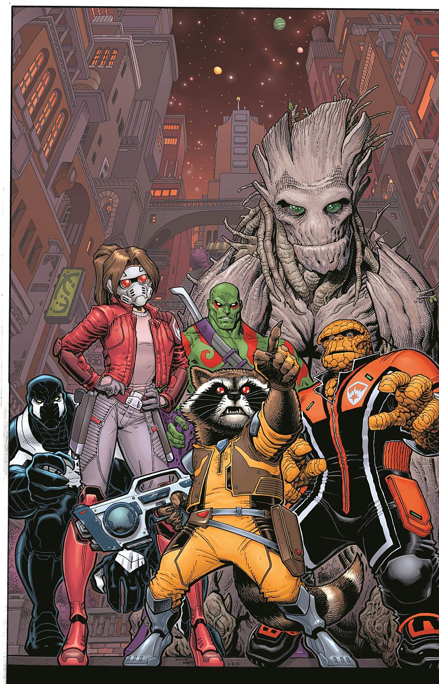 GUARDIANS OF KNOWHERE #2 YOUNG CONNECTING VARIANT COVER ROCKET RACCOON NEW 1