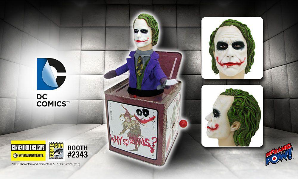 Bif Bang Pow DC Comics Harley Quinn Jack In The Box
