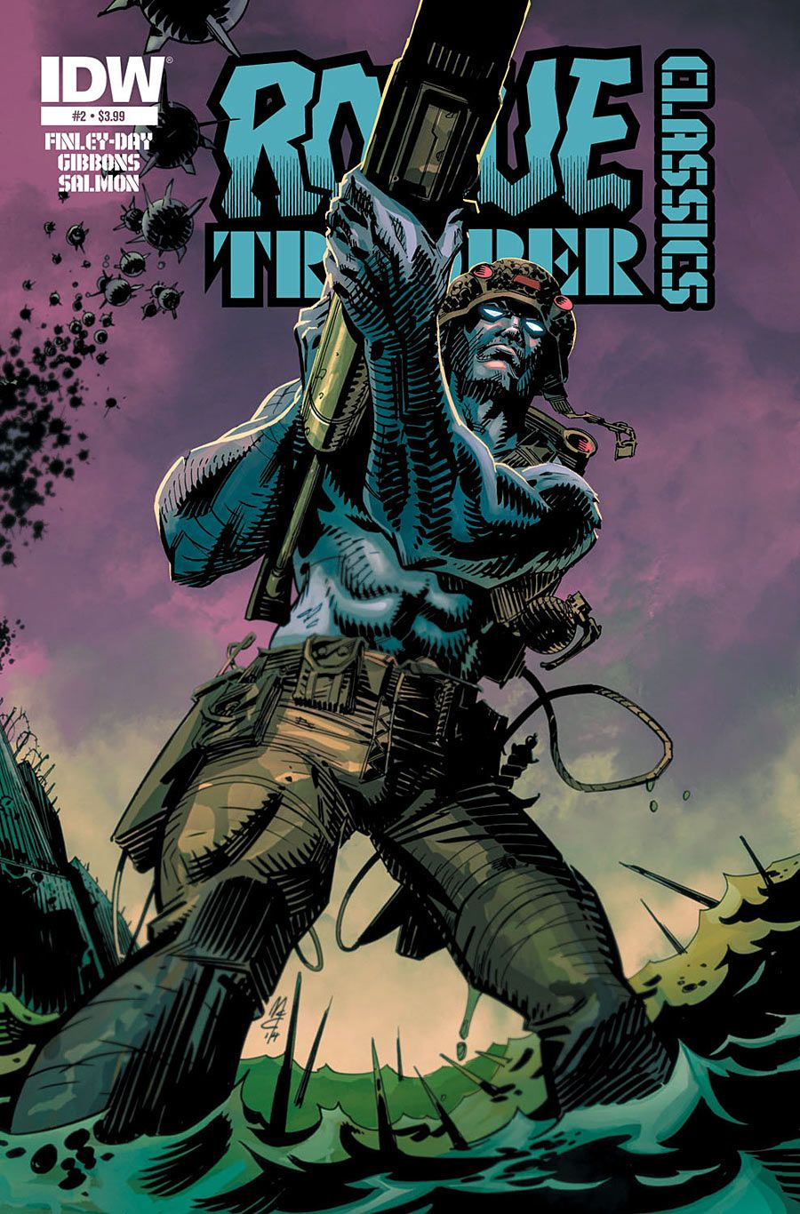 Rogue Trooper #4 Subscription Variant Comic Book 2014 IDW