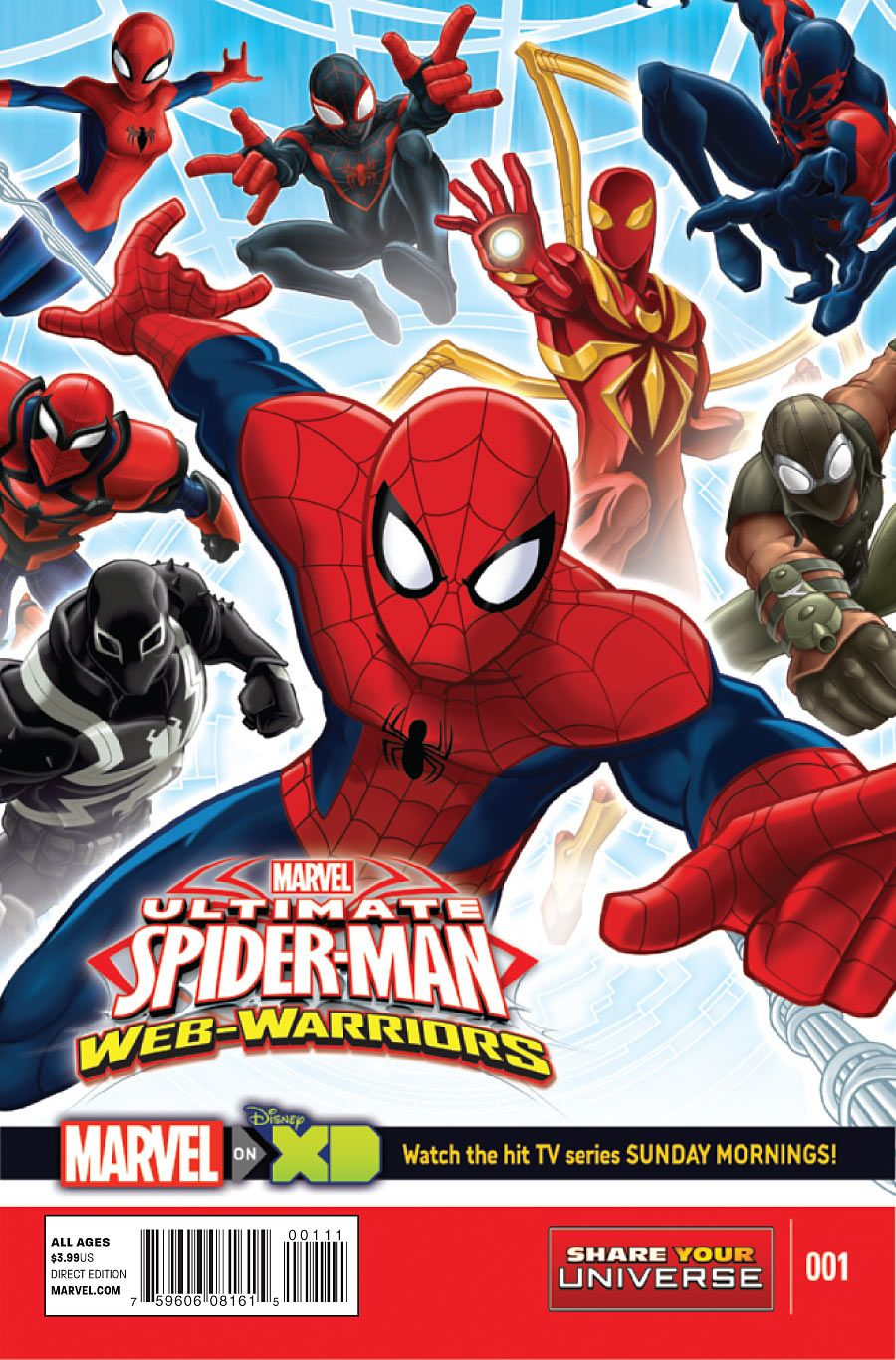 Official - Ultimate Spider-Man: Web Warriors - The Spider
