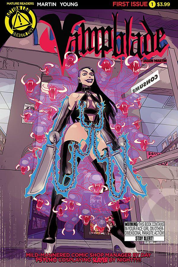 Cover n. 1 di Vampblade