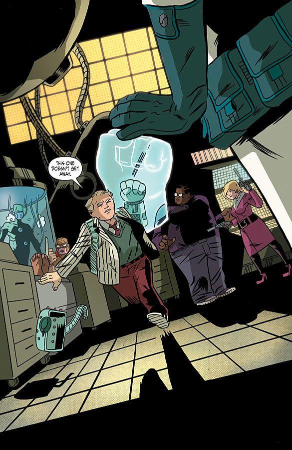 Image The Intrepids #5 Comic Book