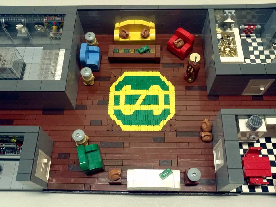 Fan creates detailed LEGO replica of Uncle Scrooge's money bin