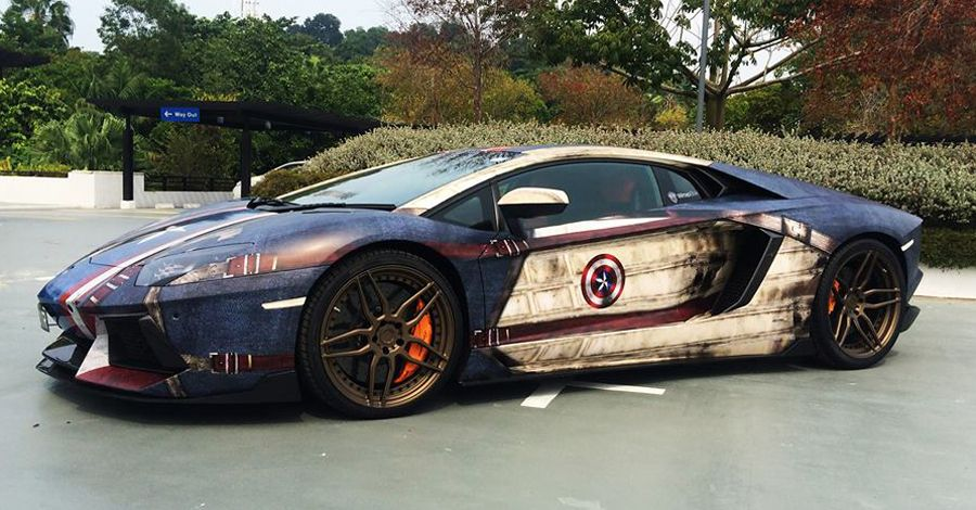 Patrol the streets with style in these incredible superhero cars