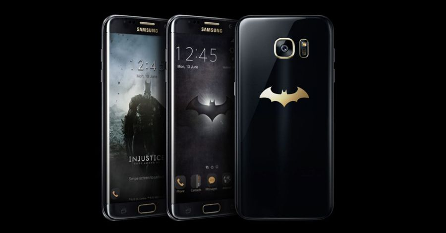 Samsung unveils its own limited-edition Batphone
