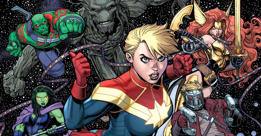 """Bendis' """"Guardians of the Galaxy"""" Pick a """"Civil War II"""" Side While Grounded on Earth"""